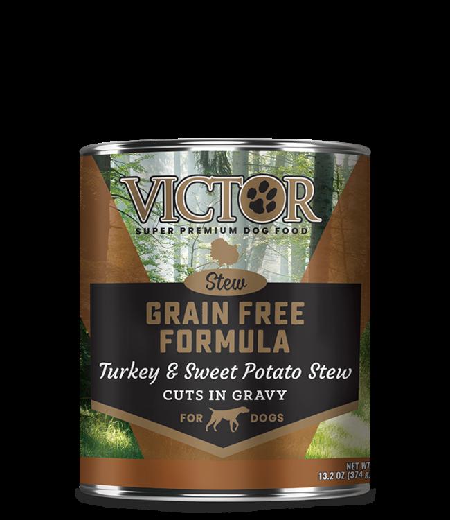 Victor Pet Food VICTOR®  Grain Free Formula Turkey and Sweet Potato Cuts in Gravy 13.2oz