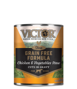 Victor Pet Food VICTOR® Grain Free Formula Chicken and Vegetables Cuts in Gravy 13.2oz