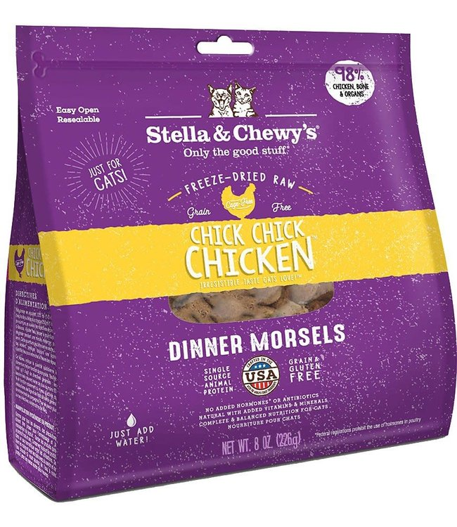 Stella & Chewy's Stella & Chewy's Chick, Chick Chicken Freeze-Dried Raw Dinner Morsels For Cats
