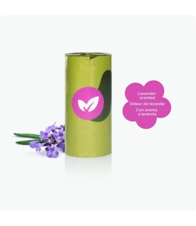 Earth Rated Earth Rated® Bags Single Roll (Lavender Scent)