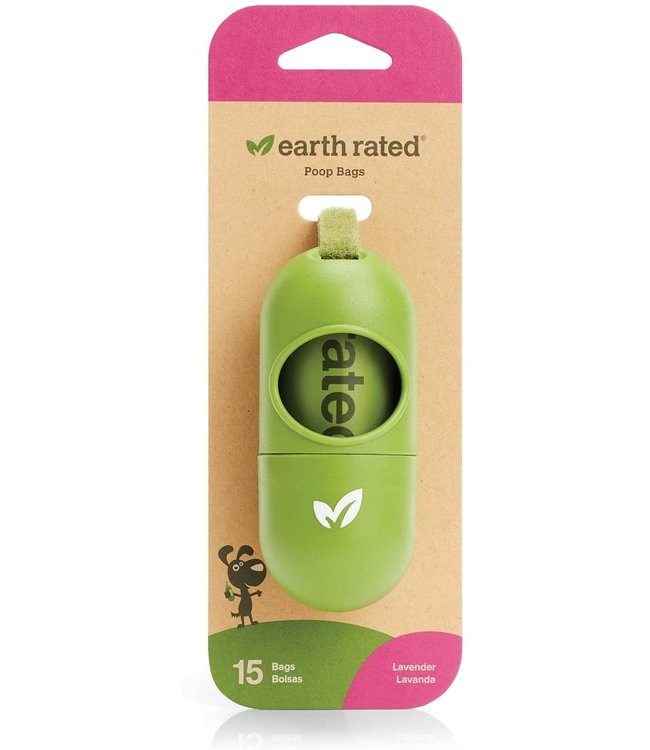 Earth Rated Earth Rated® Leash Dispenser with 15 Lavender Scent Bags