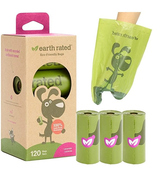 Earth Rated Earth Rated® 120 Bags on 8 Refill Rolls Lavender Scent
