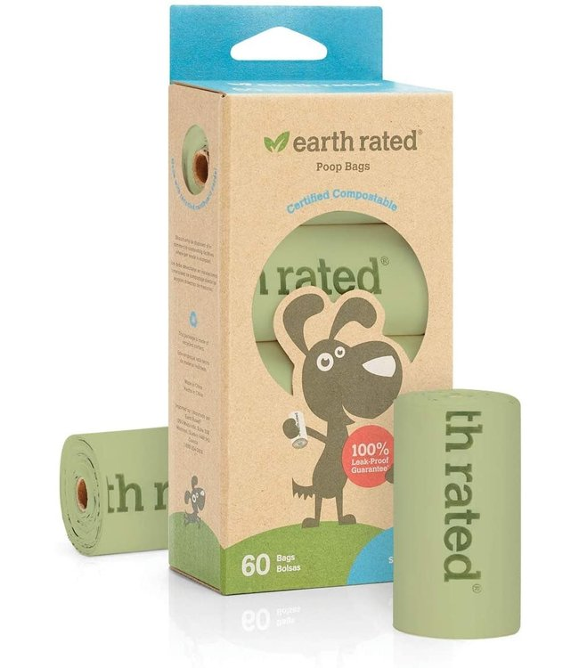 Earth Rated Earth Rated® 60 Certified Compostable Bags on 4 Refill Rolls