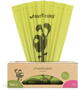 Earth Rated Earth Rated® 300 Bags on a Large Single Roll (Lavender Scent)