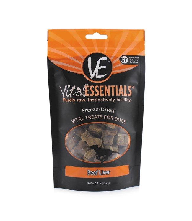 Vital Essentials® Vital Essentials® Freeze-Dried Beef Liver 2.1 oz
