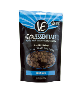 Vital Essentials® Vital Essentials® Freeze-Dried Beef Nibs 2.5 oz