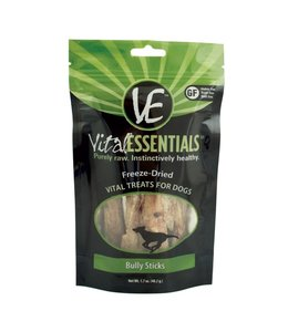 Vital Essentials® Vital Essentials® Freeze-Dried Bully Sticks (5 pcs) Pkg