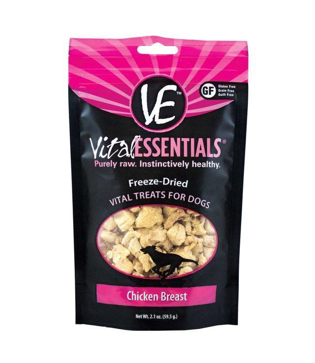 Vital Essentials® Vital Essentials® Freeze-Dried Chicken Breast Diced 2.1 oz