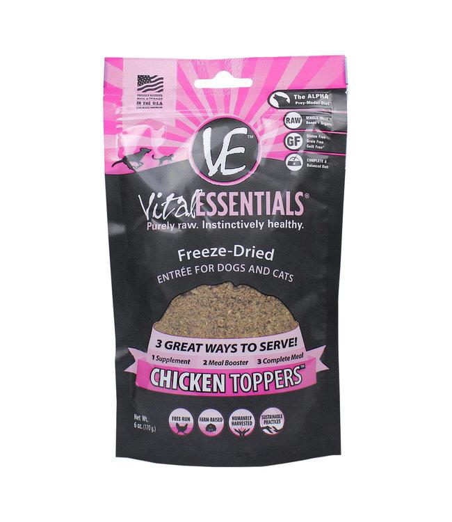 Vital Essentials® Vital Essentials® Freeze-Dried Topper Chicken 6 oz