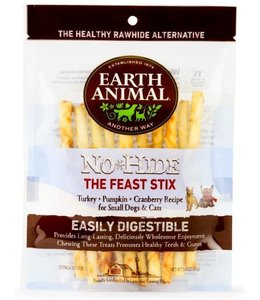 Earth Animal Earth Animal Holiday Feast Chew Stix 10 Pk
