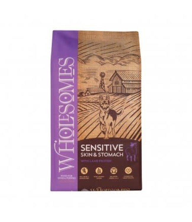 Wholesomes™ Wholesomes™ Sensitive Skin & Stomach with Lamb Protein 30 LB