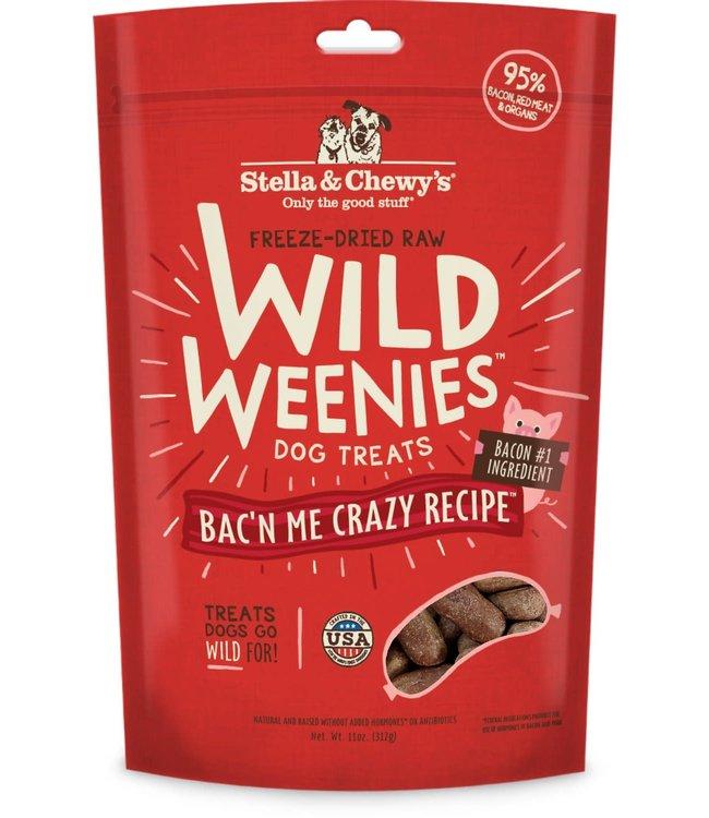 Stella & Chewy's® Stella & Chewy's® Freeze Dried Wild Weenies Bac'n Me Crazy 11 oz