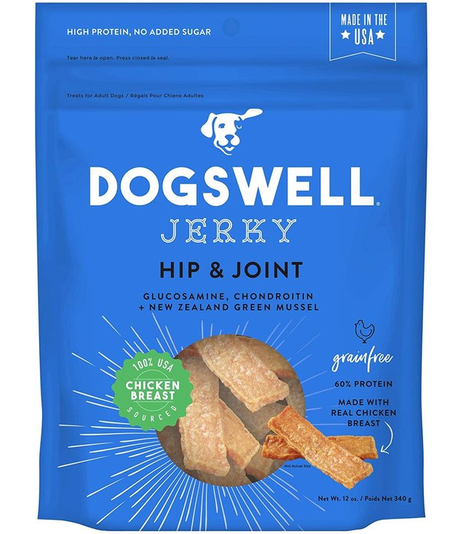 Dogswell Dogswell Jerky Hip & Joint Chicken 12 oz