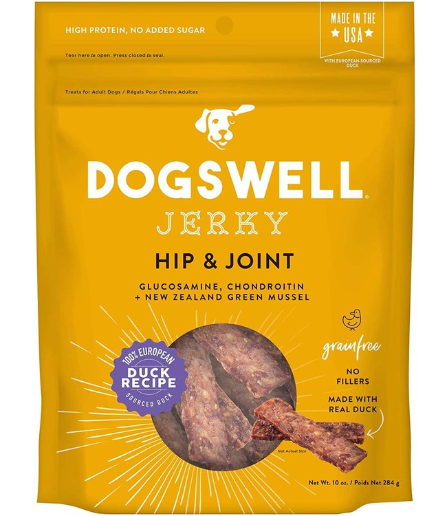 Dogswell Dogswell Jerky Hip & Joint Duck 10 oz
