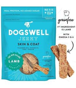 Dogswell Dogswell Jerky Skin & Coat Lamb 10 oz
