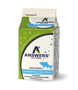 ©AnswersTM Pet Food Answers Fermented Fish Stock 1pt