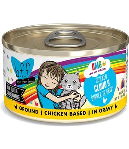 Weruva Weruva b.f.f. OMG Grain Free Chicken - Cloud 9 2.8 oz Can