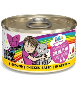 Weruva Weruva b.f.f. OMG Grain Free Chicken & Duck - Dream Team 2.8 oz Can
