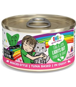 Weruva Weruva b.f.f. OMG Grain Free Tuna & Lamb - Lights Out 2.8 oz Can
