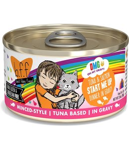 Weruva Weruva b.f.f. OMG Grain Free Tuna & Salmon - Start Me Up 2.8 oz Can