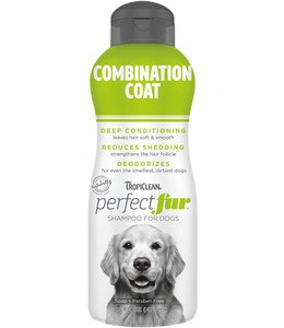 Tropiclean TropiClean PerfectFur™ Combination Coat Shampoo for Dogs, 16oz