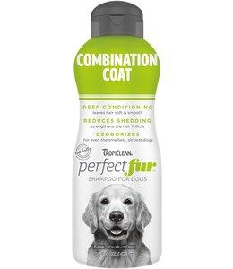 Tropiclean TropiClean PerfectFur™ Combination Coat Shampoo for Dogs, 16oz