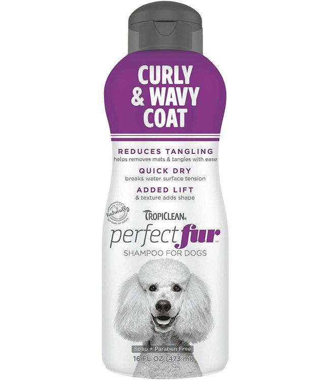 Tropiclean TropiClean PerfectFur™ Curly & Wavy Coat Shampoo for Dogs, 16oz