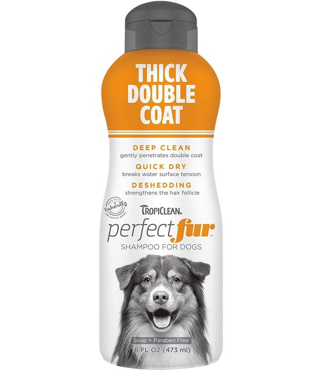 Tropiclean TropiClean PerfectFur™ Thick Double Coat Shampoo for Dogs, 16oz