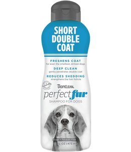 Tropiclean TropiClean PerfectFur™ Short Double Coat Shampoo for Dogs, 16oz