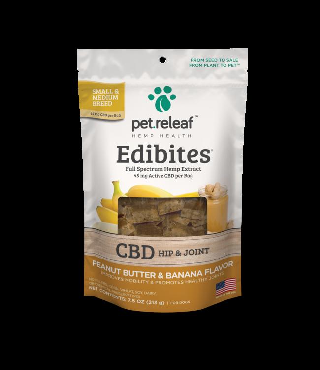 Pet Releaf Pet Releaf CBD Edibites® Hip & Joint Peanut Butter & Banana Sm/Med Breed 7.5 oz