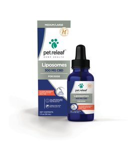 Pet Releaf CBD Liposome Hemp Oil 300 For Dogs