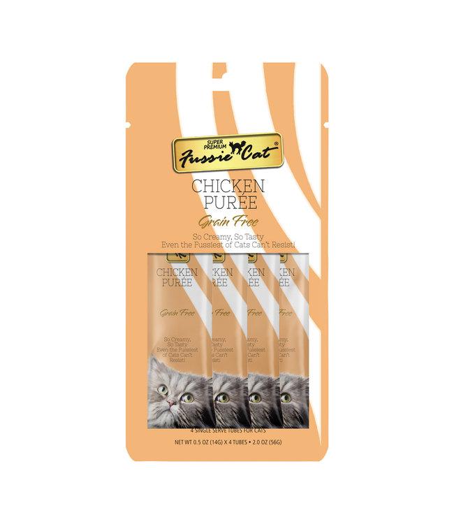 Fussie Cat Fussie Cat® Chicken Purée 4 Tubes .05 OZ Each
