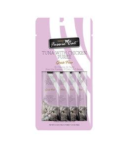 Fussie Cat Fussie Cat® Tuna Chicken Purée 4 Tubes .05 OZ Each