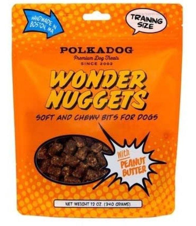 Polkadog Bakery PolkaDog Bakery Pouch Wonder Nuggets Peanut Butter 12 oz