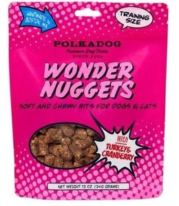 Polkadog Bakery PolkaDog Bakery Pouch Wonder Nuggets Turkey 12 oz