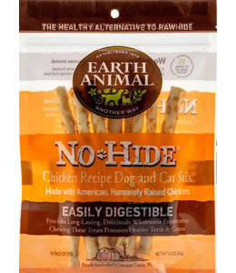 Earth Animal Earth Animal No-Hide® Chicken Chews Small 10 Pk