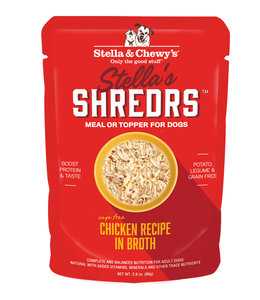 Stella & Chewy's® Stella & Chewy's® Shredrs Cage-Free Chicken Recipe in Broth 2.8 oz