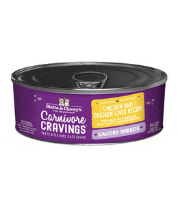 Stella & Chewy's® Stella & Chewy's® Cat Wet Carnivore Cravings Shreds Chicken & Liver 2.8 oz