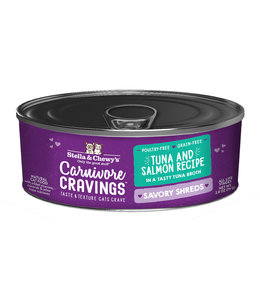 Stella & Chewy's® Stella & Chewy's® Cat Wet Carnivore Cravings Shreds Tuna & Salmon 2.8 oz