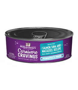 Stella & Chewy's® Stella & Chewy's® Cat Wet Carnivore Cravings Pate Salmon Tuna Mackerel 2.8 oz