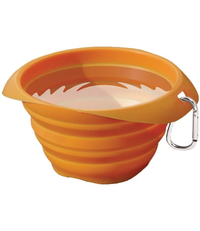 Kurgo Kurgo® Collaps-A-Bowl Orange