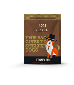 GivePet LLC Givepet Dog Treat Biscuit Ranch Hand 12 oz