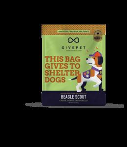 GivePet LLC Givepet Dog Treat Soft Chew Beagle Scout 6 oz