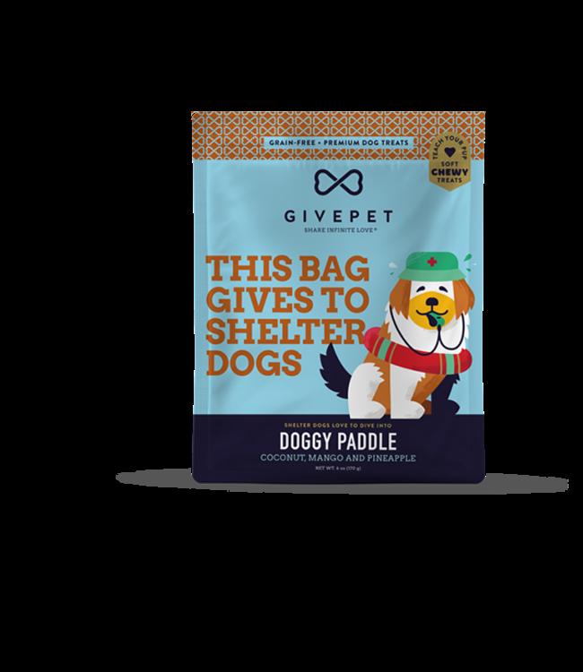 GivePet LLC Givepet Dog Treat Soft Chew Doggy Paddle 6 oz