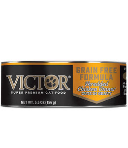 Victor Pet Food VICTOR® Grain Free Formula Shredded Chicken Dinner Cuts in Gravy 5.5OZ