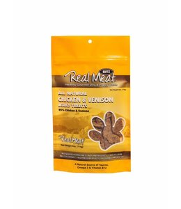 The Real Meat Company Real Meat Chicken & Venison Jerky Treats 4oz