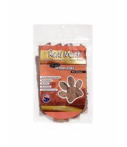 The Real Meat Company Real Meat Venison Jerky Treats 8oz