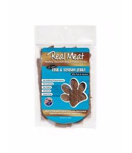 The Real Meat Company Real Meat Fish & Venison Jerky Treats 8oz