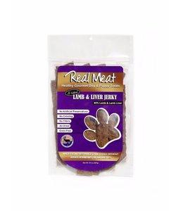 The Real Meat Company Real Meat Lamb & Lamb Liver Jerky Treats 8oz