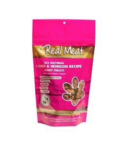 The Real Meat Company Real Meat Venison & Lamb Jerky Treats 12 oz